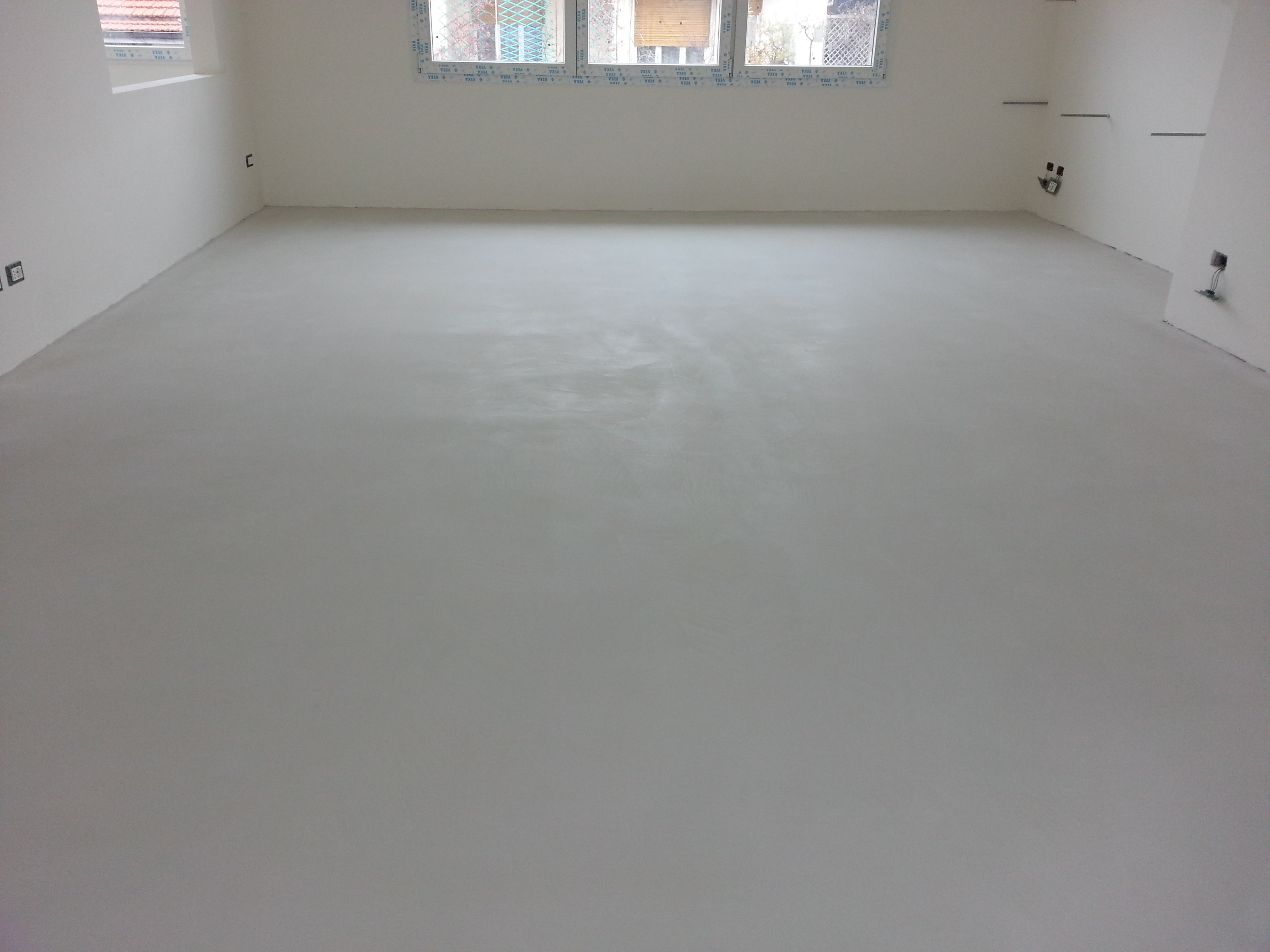 Pavimenti in resina industriali e civili microcemento - Resina pavimento esterno ...