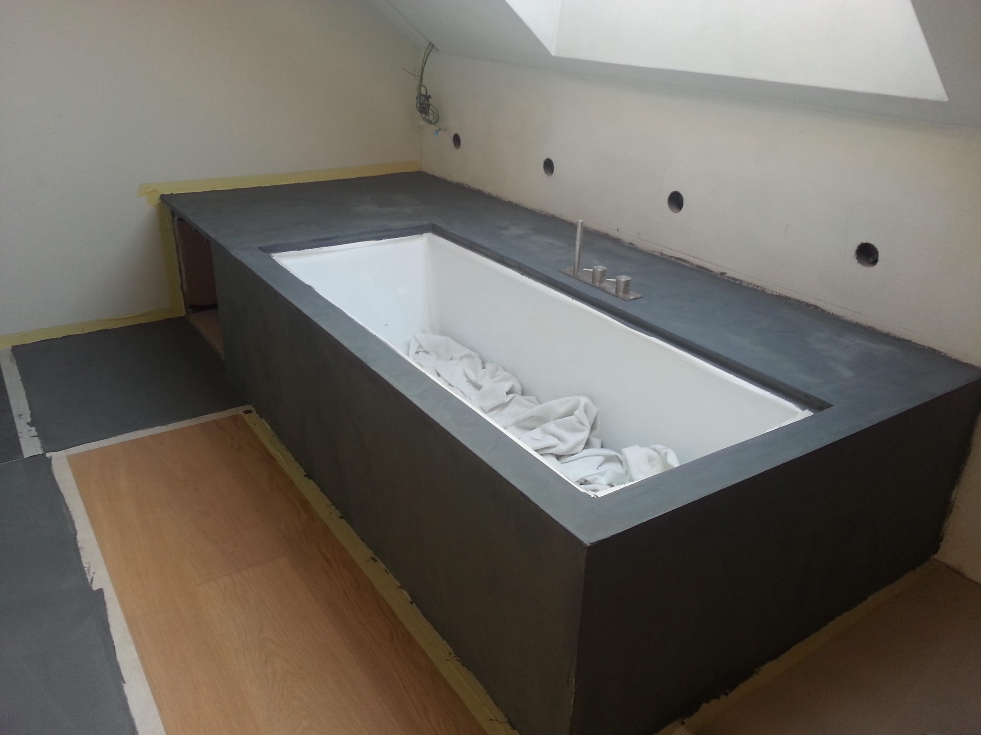 Pavimenti in resina industriali e civili micro cemento - Microcemento bagno ...